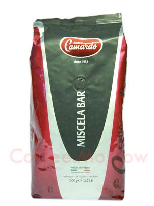 Кофе Camardo в зернах Miscela Bar 1 кг