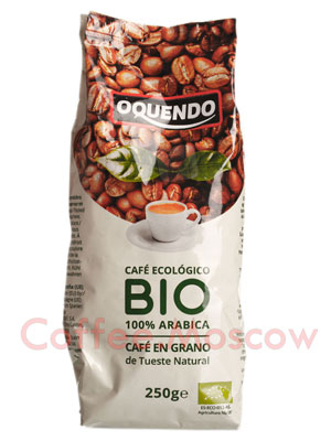 Кофе Oquendo в зернах Arabica Bio Ecologico 250 гр