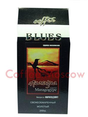 Кофе Блюз Nicaragua Maragogype молотый 200 гр