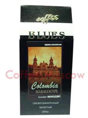 Кофе Блюз Colombia Maragogype молотый 200 гр