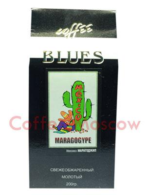 Кофе Блюз Mexico Maragogype молотый 200 гр