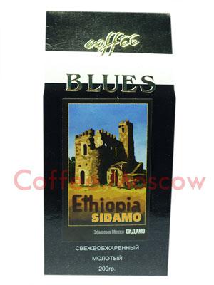 Кофе Блюз Ethiopia Sidamo молотый 200 гр