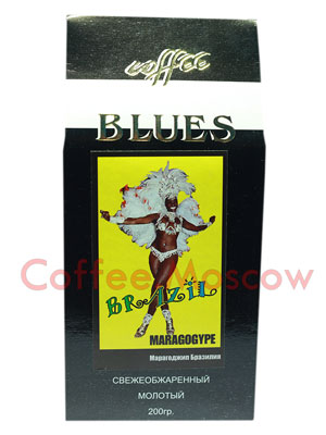 Кофе Блюз Brazil Maragogype молотый 200 гр