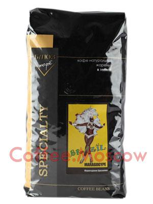Кофе Блюз Brazil Maragogype в зернах 1 кг