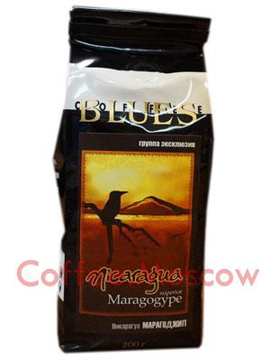 Кофе Блюз Nicaragua Maragogype в зернах 200 гр