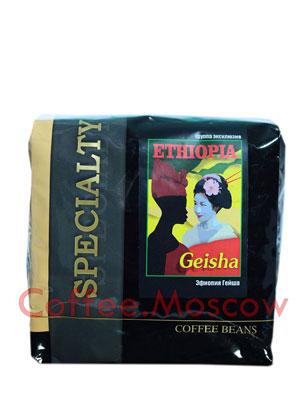 Кофе Блюз Ethiopia Geisha в зернах 500 гр