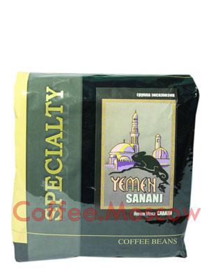 Кофе Блюз Yemen Sanani в зернах 500 гр