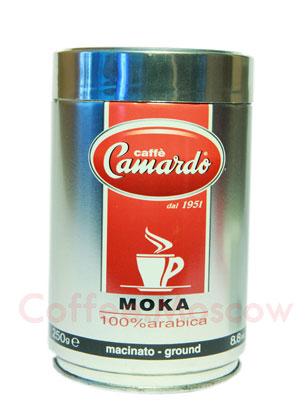 Кофе Camardo молотый Moka 250 гр (ж.б.)
