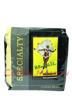 Кофе Блюз Brazil Maragogype в зернах 500 гр