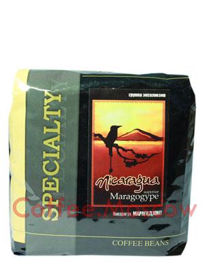 Кофе Блюз Nicaragua Maragogype в зернах 500 гр