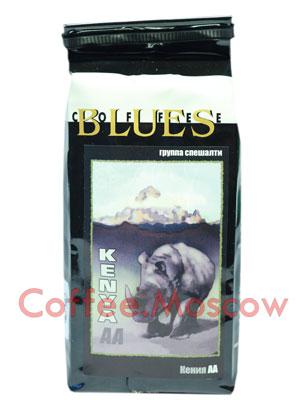 Кофе Блюз Kenya AA в зернах 200 гр