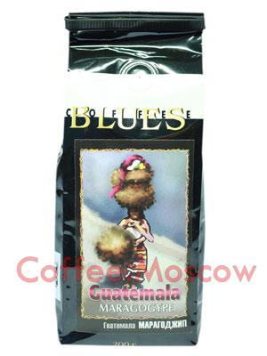 Кофе Блюз Guatemala Maragogype в зернах 200 гр