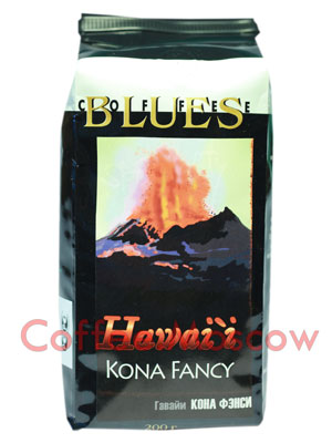 Кофе Блюз Hawaii Kona в зернах 200 гр