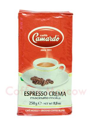 Кофе Camardo молотый Espresso Crema 250 гр
