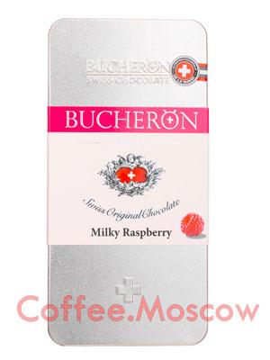 Шоколад Bucheron молочный с малиной 100 гр
