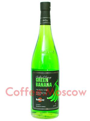 Сироп Barline Зеленый банан 1 литр