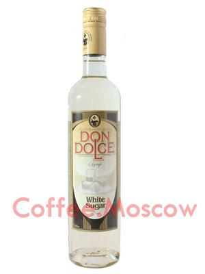 Сироп Don Dolce Белый сахар  0.7 л