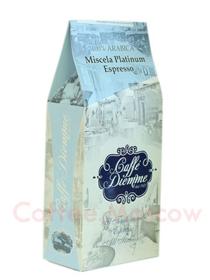 Кофе Diemme молотый Miscela Platinum Espresso 250 гр