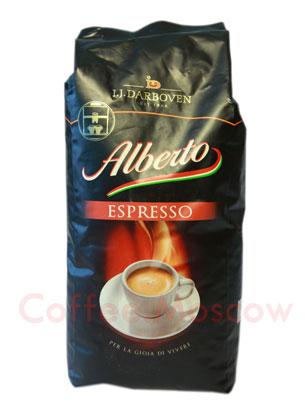 Кофе Darboven в зернах Alberto Espresso 1 кг