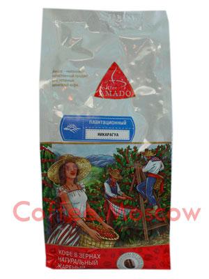 Кофе Amado в зернах Никарагуа 500 гр