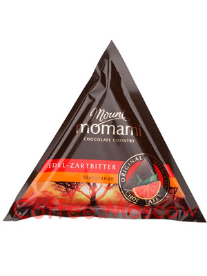 Шоколад Mount Momami Горький с апельсином 90 гр