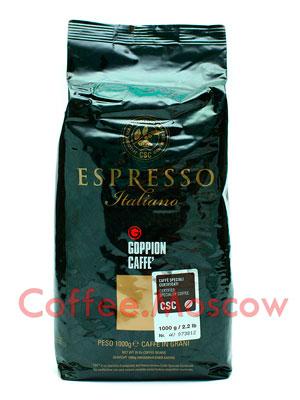 Кофе Goppion Caffe в зернах Espresso Italiano 1кг