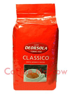 Кофе Deorsola в зернах Classico 1кг