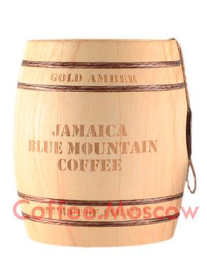 Кофе Jamaica Blue Mountain в зернах бочонок 150 гр