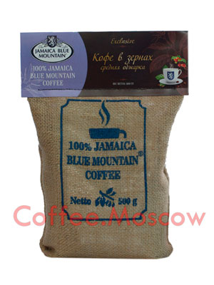 Кофе Jamaica Bue Mountain Arabica в зернах средняя обжарка 500 гр