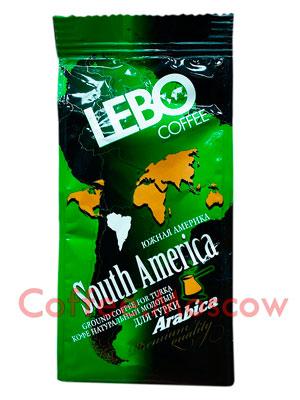 Кофе Lebo молотый Южная Америка 100 гр