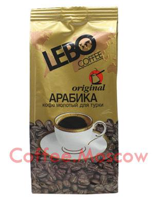 Кофе Lebo молотый original турка 100 гр