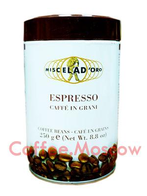 Кофе Miscela d`Oro в зернах Espresso Caffe In Grani 250гр