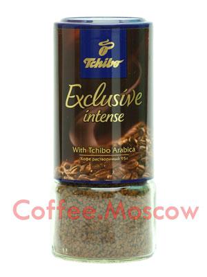 Кофе Tchibo растворимый Exclusive Intense 95 гр