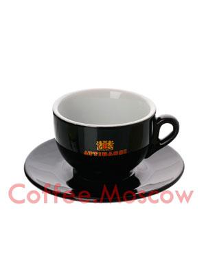 Чашка Attibassi капучино 150 мл Черная