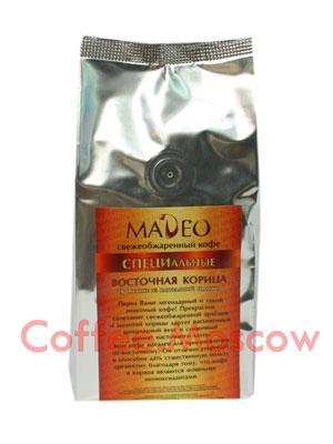 Кофе Madeo в зернах Восточная корица 200 гр