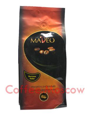 Кофе Madeo в зернах Вьетнам Dalat 200 гр
