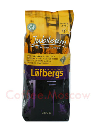 Кофе Lofberg Lila молотый Jubilee 250 гр