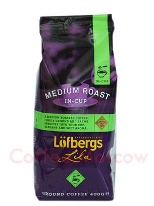 Кофе Lofberg Lila молотый Medium In-Cup 500 гр