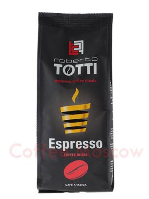 Кофе Totti в зернах Espresso 250 гр