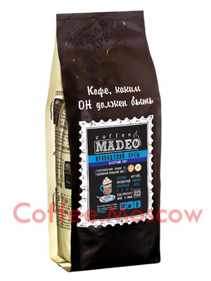 Кофе Madeo в зернах Ирландский крем 500 гр