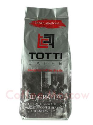 Кофе Totti в зернах Piu Grande 1 кг