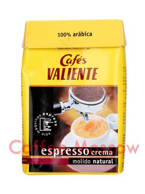 Кофе Valiente молотый Espresso