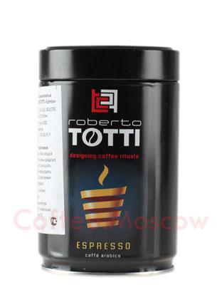 Кофе Totti молотый Espresso (ж.б.) 250 гр