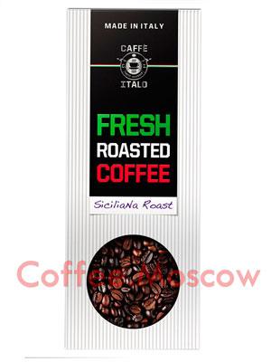 Кофе Italo в зернах Siciliana Roast 250 гр