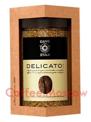 Кофе Italo растворимый Delicato 100 гр