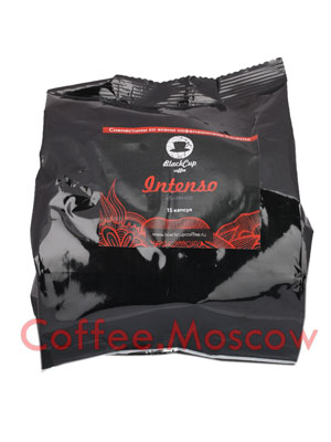BlackCup Squesito Intenso 15 капсул