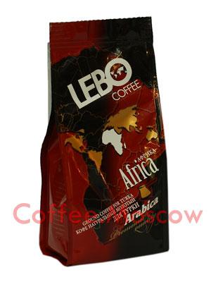 Кофе Lebo молотый Африка 100 гр