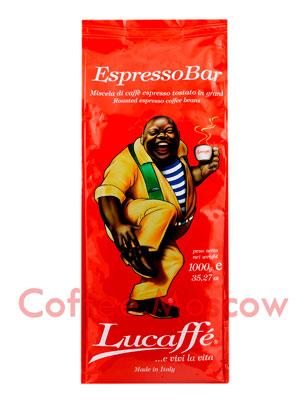 Кофе Lucaffe в зернах Espresso Bar 1 кг