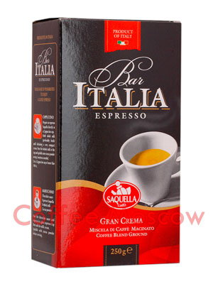 Кофе Saquella молотый Gran Crema 250 гр
