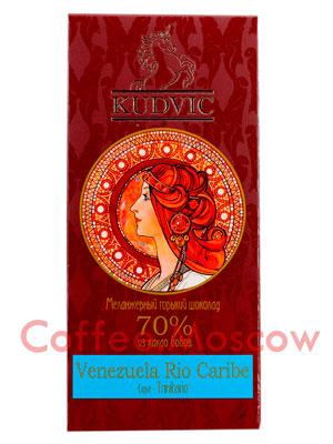 Шоколад Kudvic 70% из какао бобов Venezuela Rio Caribe